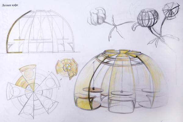 Природные формы в дизайн